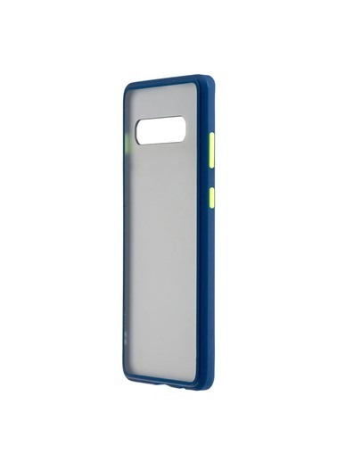 MF Product MF Product Jettpower 0325 Telefon Kılıfı Samsung Galaxy S10 Plus Koyu Mavi Mavi